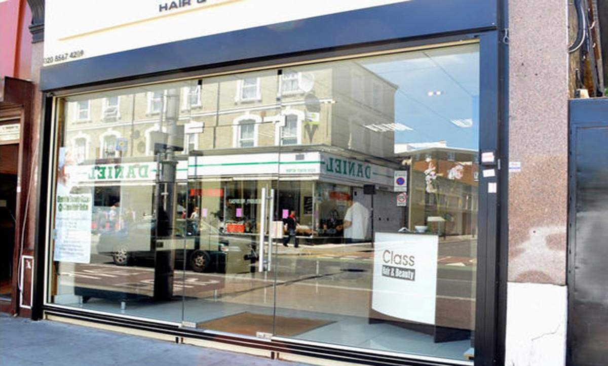 TOUGHENED GLASS SHOP FRONTS MANCHESTER