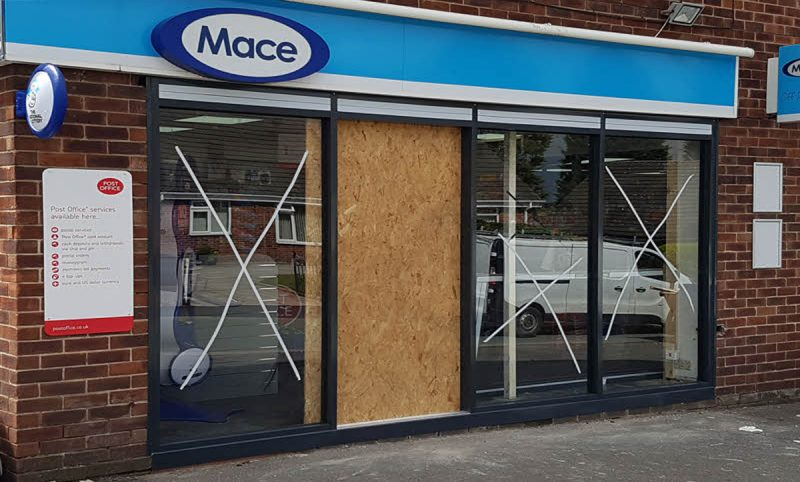 SHOP FRONT INSTALLATION MANCHESTER
