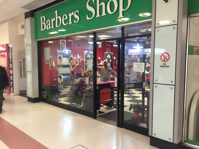 SHOP FRONT SHUTTERS IN MANCHESTER