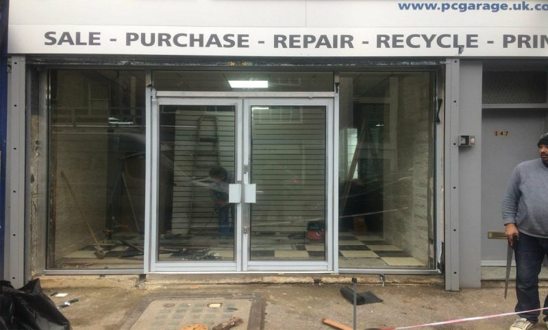 Automatic Shop Fronts in Hayes