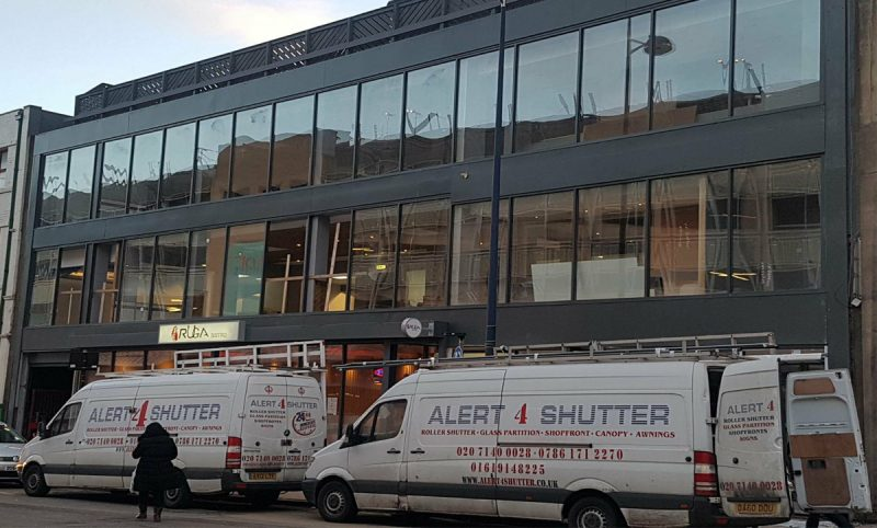 Toughened Glass Shop Fronts in Hackney
