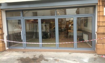 Shop fronts in Romford