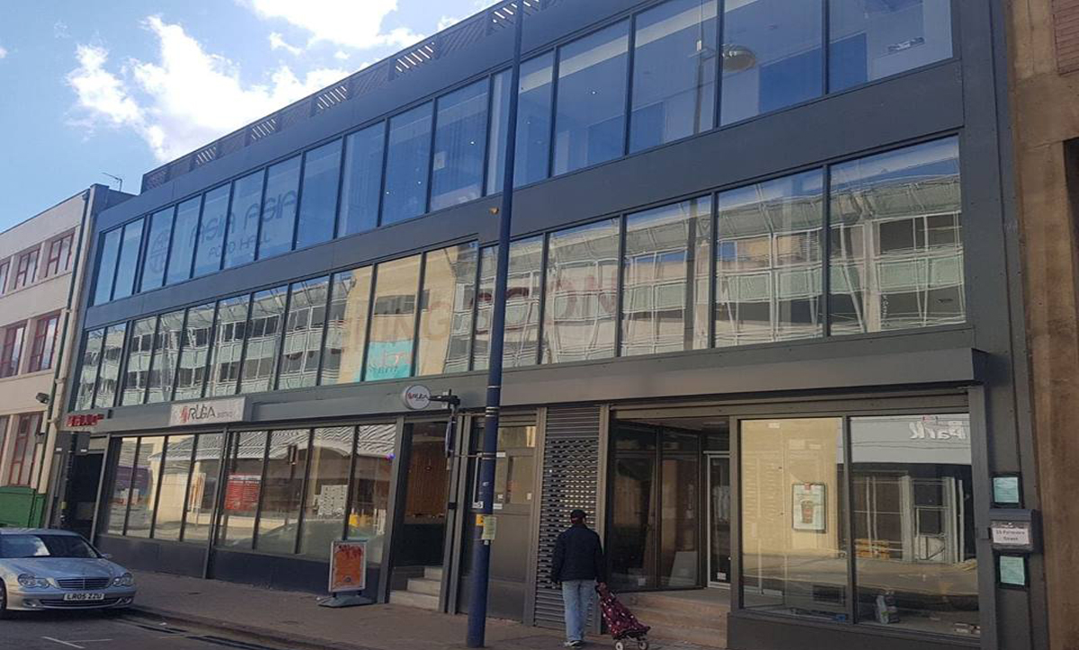 Aluminium Shop Fronts in Derry