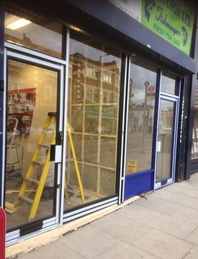 Aluminium Shopfronts