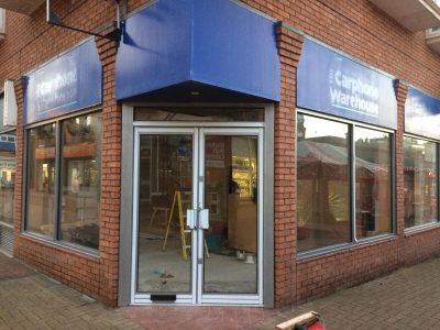 Commercial Aluminium Shop Fronts