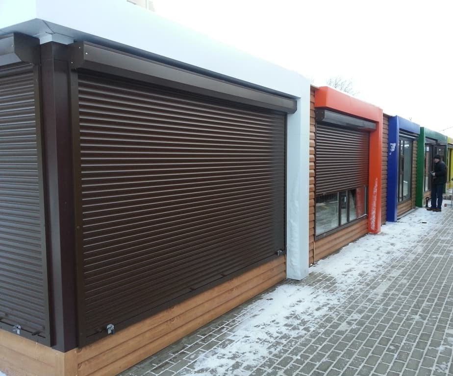 Roller Shutters installations in Yorkshire